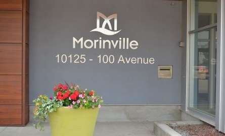 Morinville City Hall Entrance