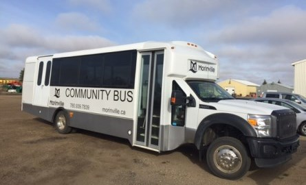 Photo of Morinville community bus